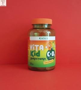 Béres VitaKid C+D3 vitamin gumivitamin