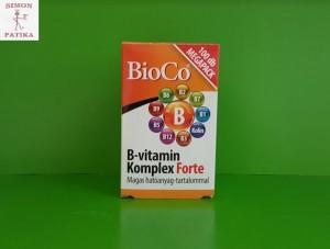 BioCo B vitamin komplex tabletta