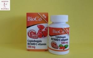 BioCo Csipkebogyós retard C 500mg tabletta