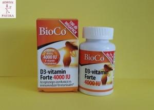 BioCo D3 vitamin 4000 Iu tabletta