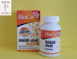 BioCo Magne citrát +B6 tabletta