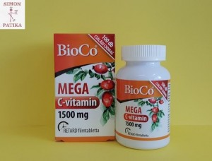 BioCo Mega C vitamin 1500 mg tabletta