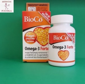 BioCo Omega 3 Forte kapszula