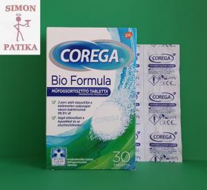 Corega Bio Formula műfogsortisztító tabletta
