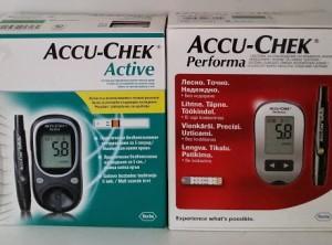 AccuChek vércukormérő