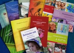Homeopátiás könyvek