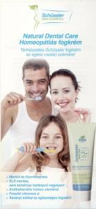 Schüssler homeopátiás fogkrém