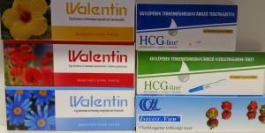 Terhességi tesztek Walentin HCG