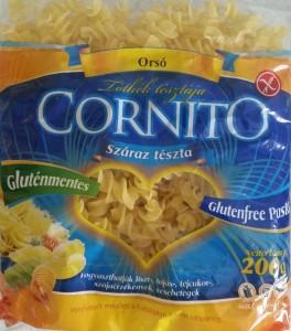 Cornito tészta