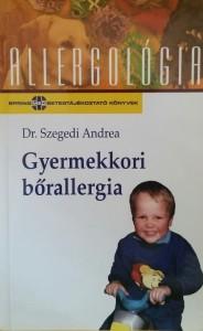 Könyv Gyermekkori bőrallergia