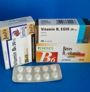 B6 vitaminok