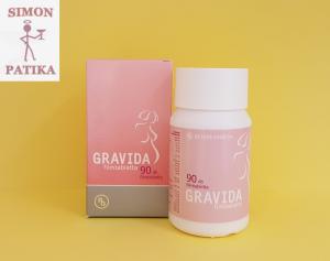 Gravida tabletta várandósoknak 90db