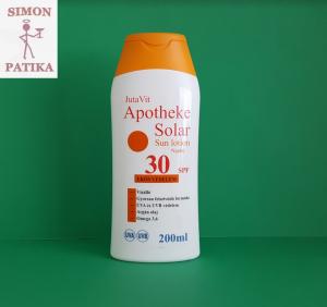 JutaVit Apotheke Solar SPF30 naptej