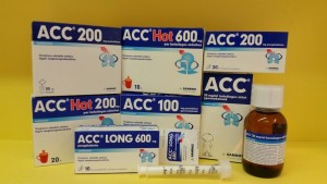 ACC 100 granulátum, ACC 200 granulátum, ACC 600 pezsgőtabletta