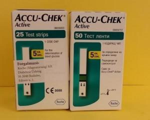 Accu-Chek Acive tesztcsík