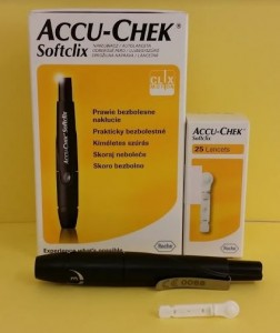 Accu-Chek ujjbegyszúró készülék + lándzsa