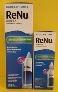 Bausch & Lomb Renu MultiPlus kontaktlencse tisztító folyadék