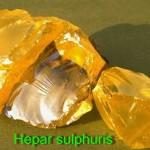 Hepar sulfuris homeopátia