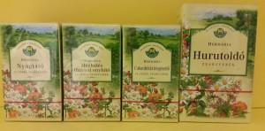 Herbária teakeverékek