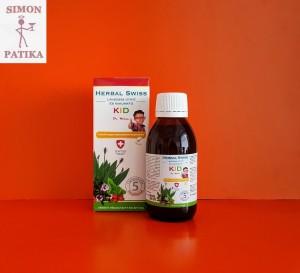 Herbal Swiss Kid Lándzsás útifű- kakukkfű szirup