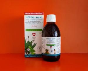 Herbal Swiss Lándzsás útifű- kakukkfű szirup