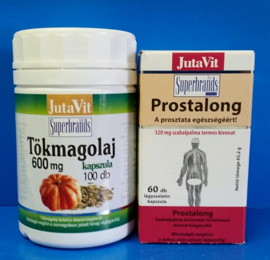 jutavit tökmagolaj kapszula Pillák a prostatitis embertől