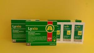 Lyxio 200 granulátum  Lyxio 600 granulátum