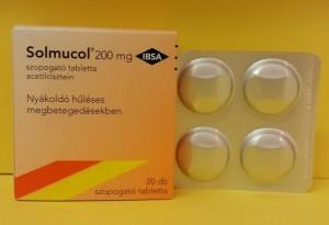 Solmucol szopogató tabletta