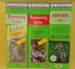 Biomed Rozmaring, Rozmaring forte krém