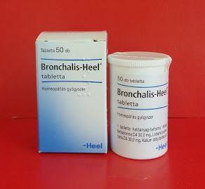 Bronchalis Heel homeopátia köhögés