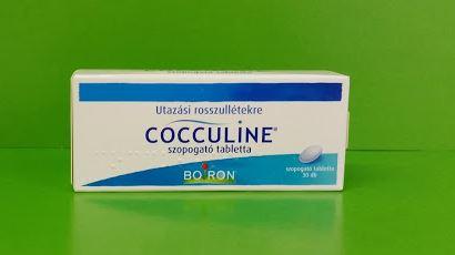 Cocculine tabletta Boiron utazási rosszullét, hányinger