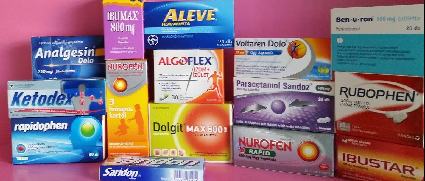 ízületi fájdalomcsillapító gyógyszer
