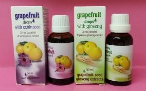 Grapefruit csepp Echinaceával, Grapefruit csepp ginsenggel Dr Chen