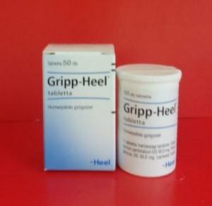 Gripp Heel tabletta influenza, megfázás