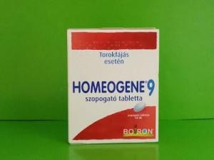 Homeogene tabletta homeopátia Boiron
