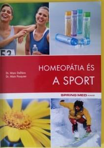 Homeopátia és a sport könyv