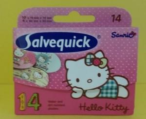 Salvequick sebtapasz lányoknak
