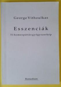 Vithoulkas esszenciák 51 homeopátiás gyógyszerkép könyv