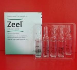 Zeel injekció homeopátia Heel
