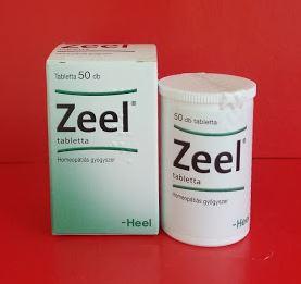 Zeel tabletta homeopátia Heel