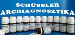 Schüssler arcdiagnosztika