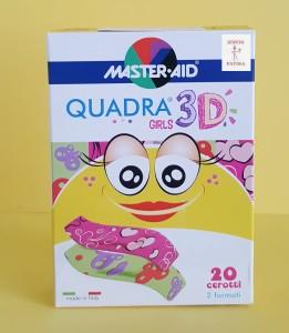 Master Aid Quadra Med sebtapasz lány