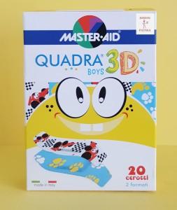 Master Aid Quadra Med sebtapsz fiú