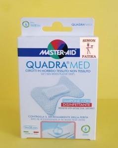 Master Aid Quadra med sebtapasz