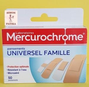 Mercurochrom sebtapasz családi kiszerelés