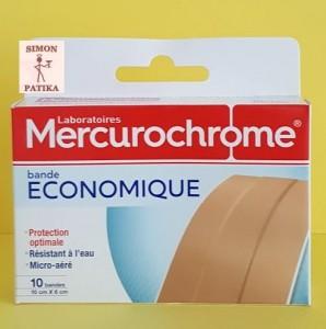 Mercurochrome sebtapasz vágható