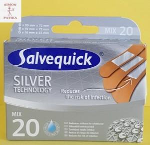 Salvequick Silver technology sebtapasz