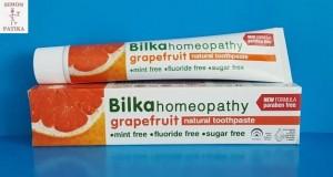 Bilka homeopátiás fogkrém grapefruit mentol mentes