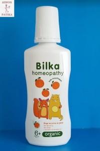 Bilka homeopátiás szájvíz gyerek mentol mentes