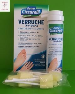 Dottor Ciccarelli Szemölcs fagyasztó spray